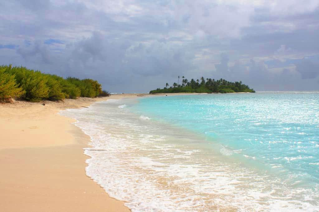 Beaches of San Andres, Colombia.