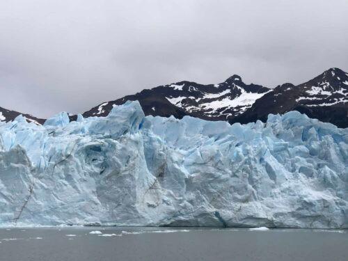 Glacier wall Perito Moreno Glacier Patagonia Argentina
