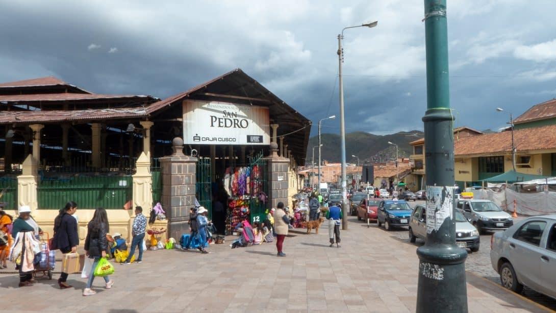 San Pedro market tour with Cusco Culinary