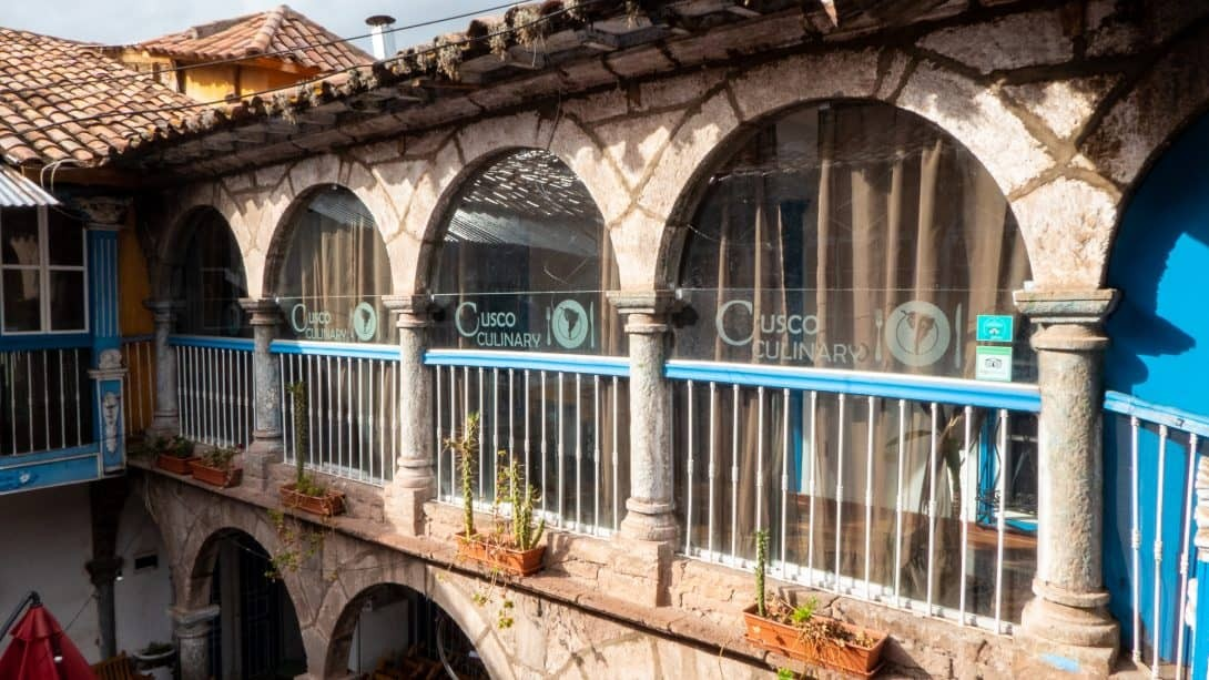The Cusco Culinary building.