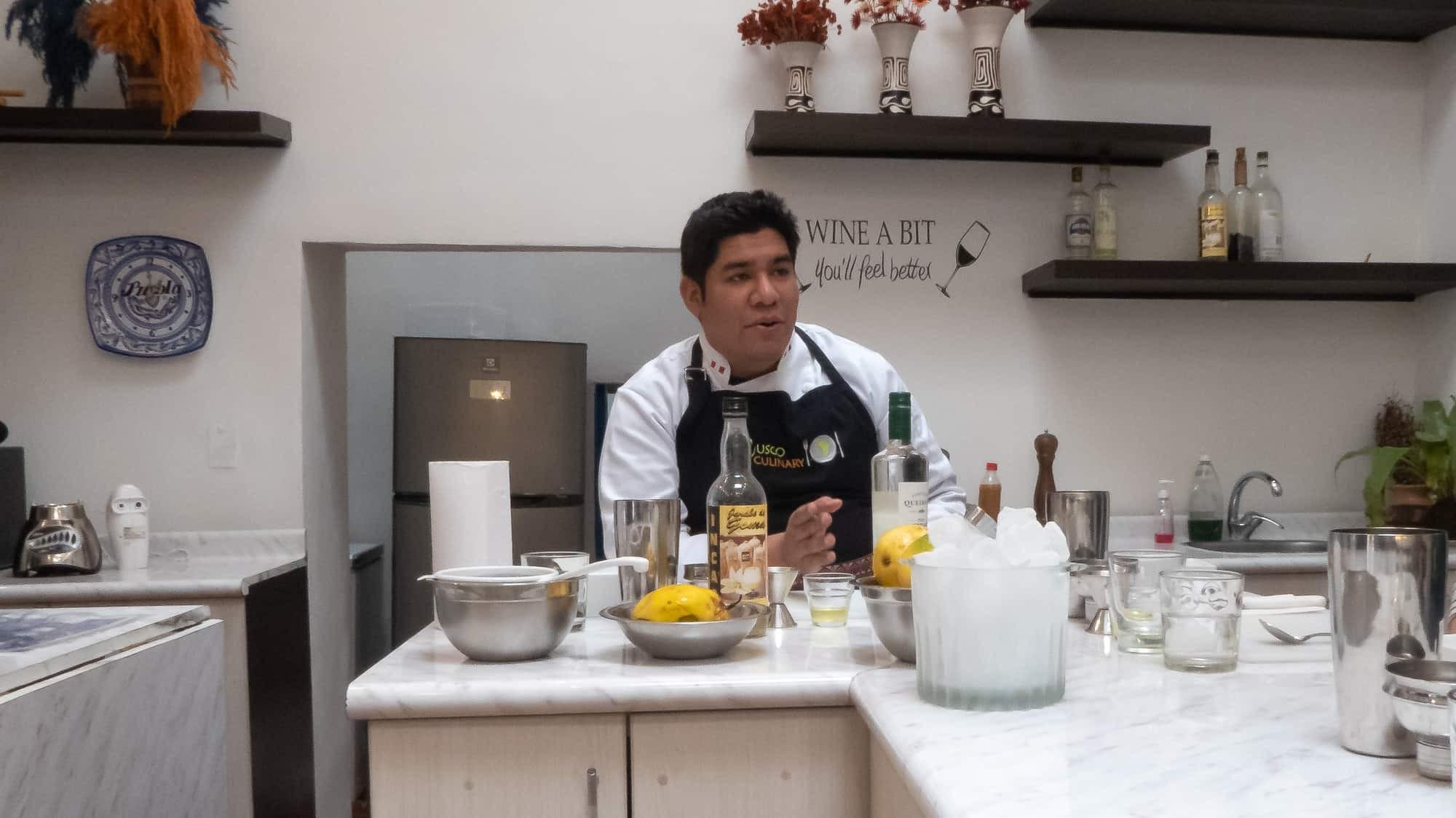 Chef at Cusco Culinary