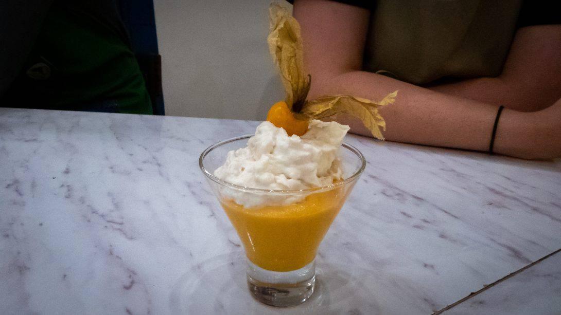 Dessert at Cusco Culinary
