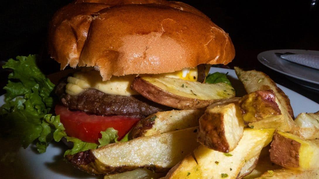 Magic Burger at Magicpacker Hostel, Cusco