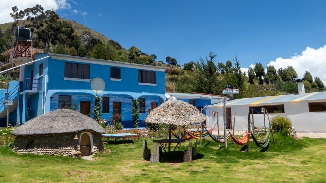Joshua Hostal, Copacabana, Bolivia - The Perfect Spiritual Retreat!