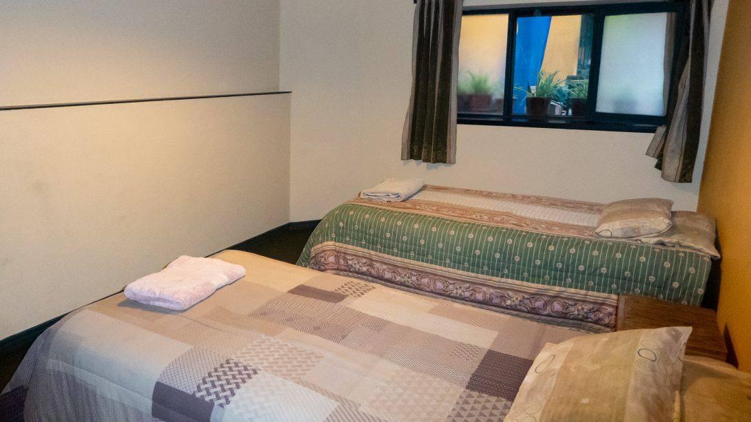 Beds at Arthy's Hostel, La Paz