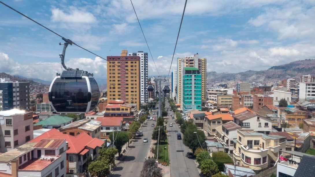 The La Paz gondola