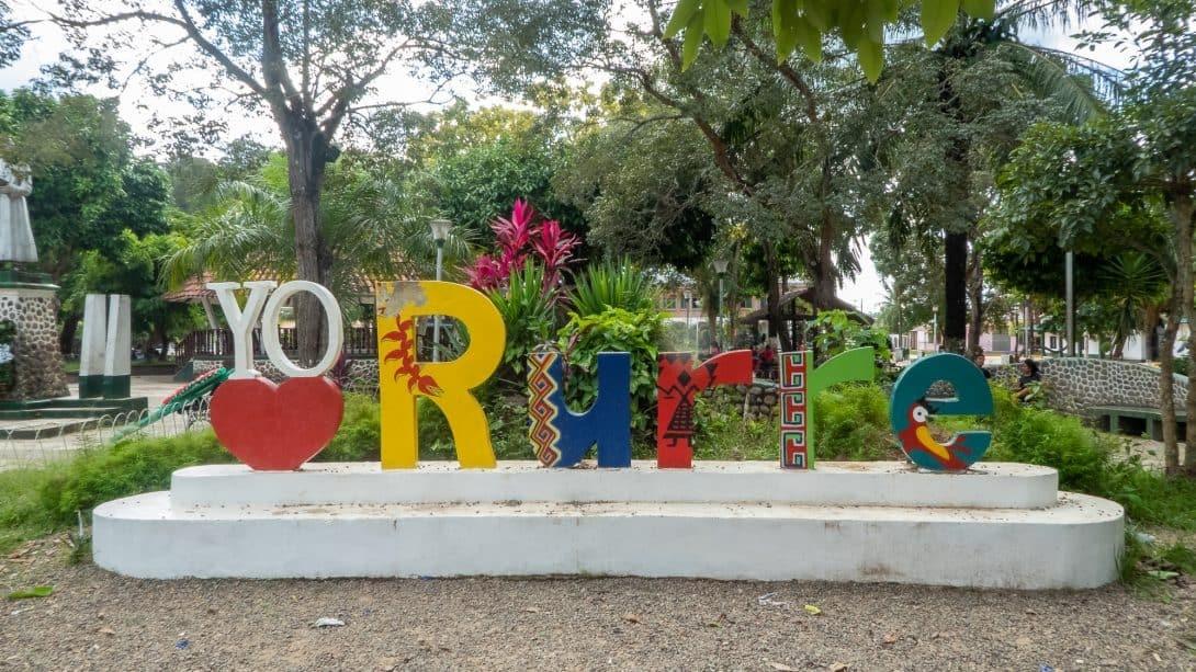 Rurrenabaque sign