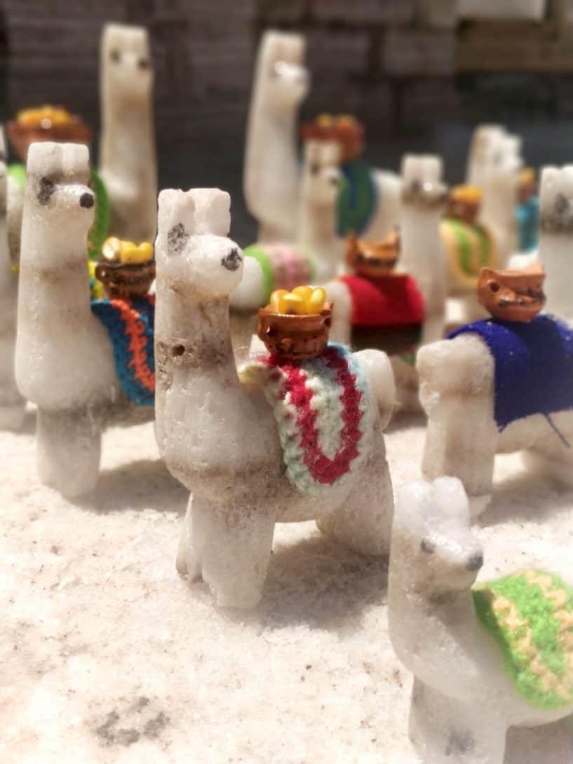 Salt alpacas