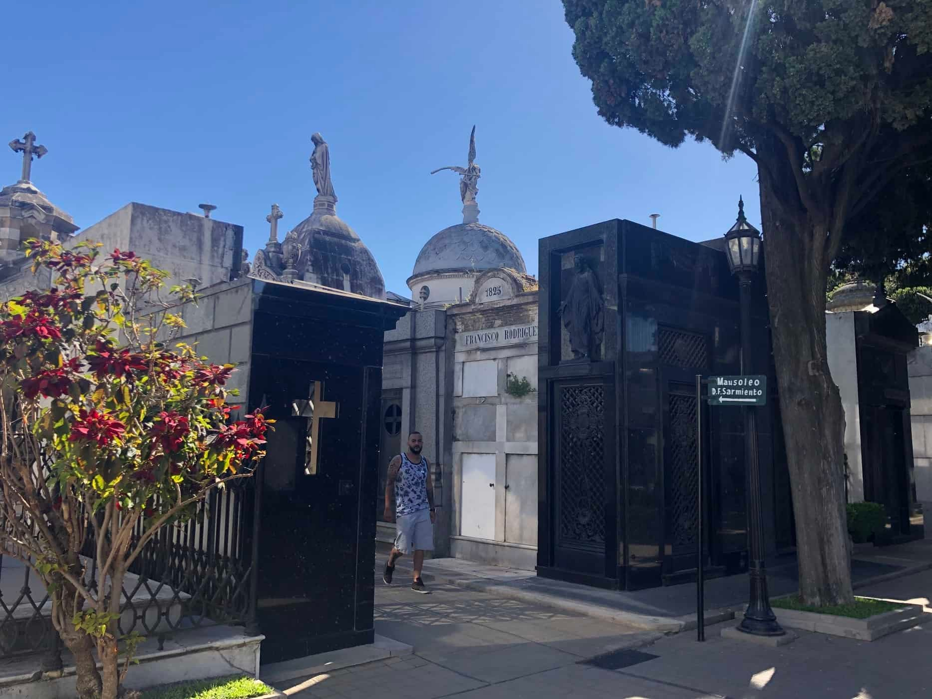 The cemetery. Buenos Aires, Argentina.