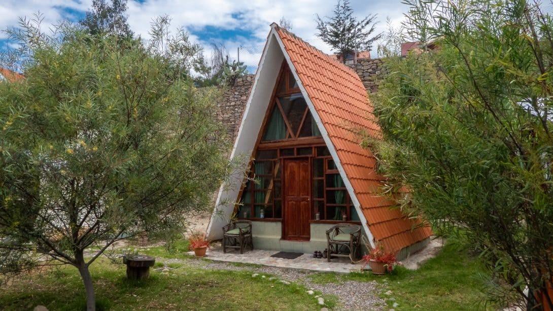 Glamping accommodation at Colibri Camping