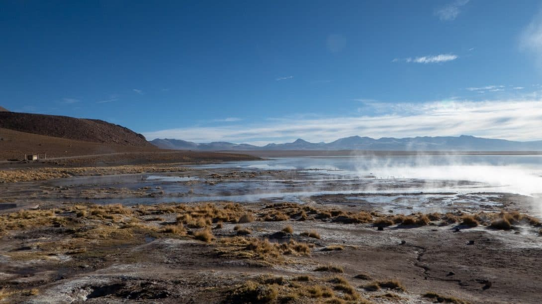 Hot springs at Eduardo Avaroa National Reserve