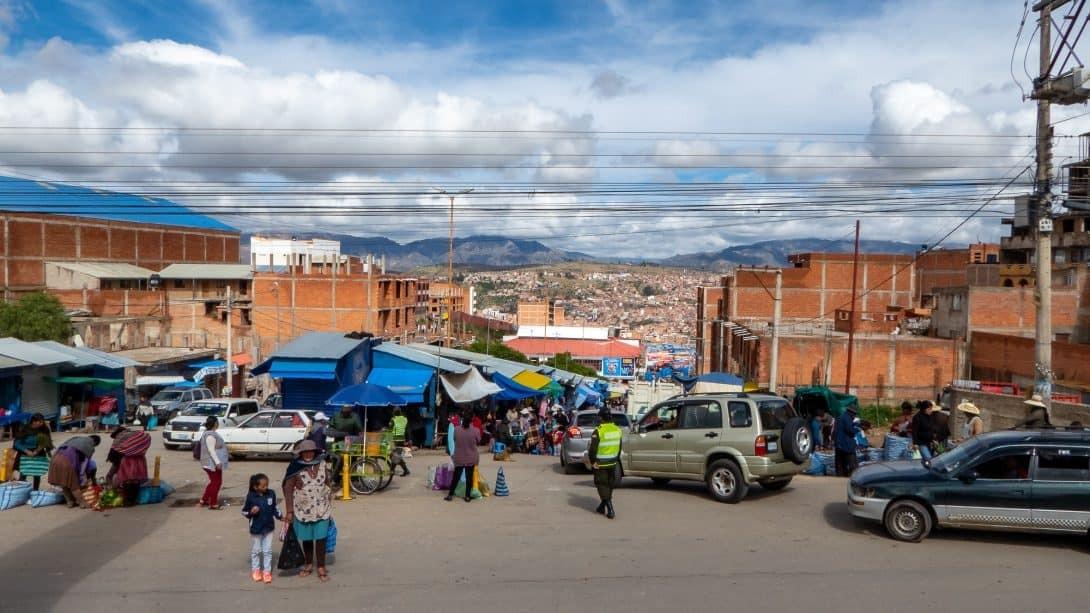 Market in Sucre