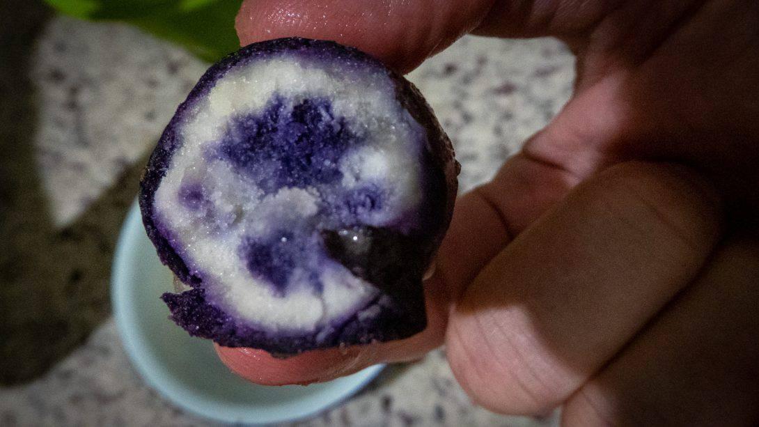 Bolivian potato at La Boca del Sapo
