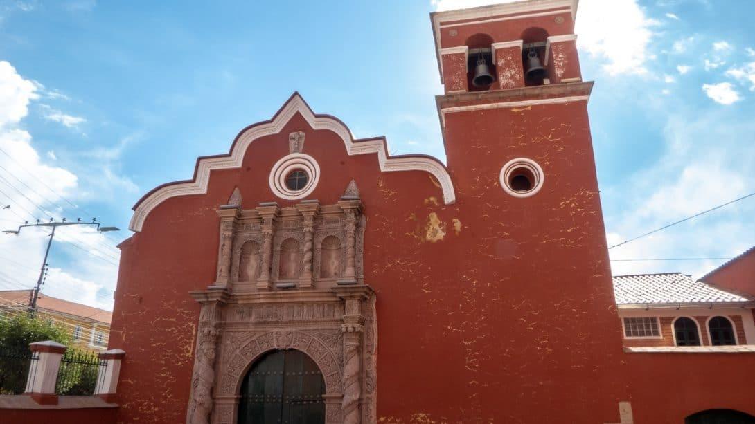 Church in Potosí