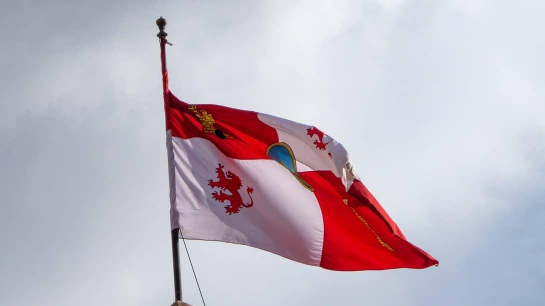 The flag of Potosí.