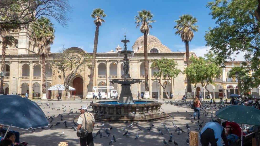 Cochabamba main square