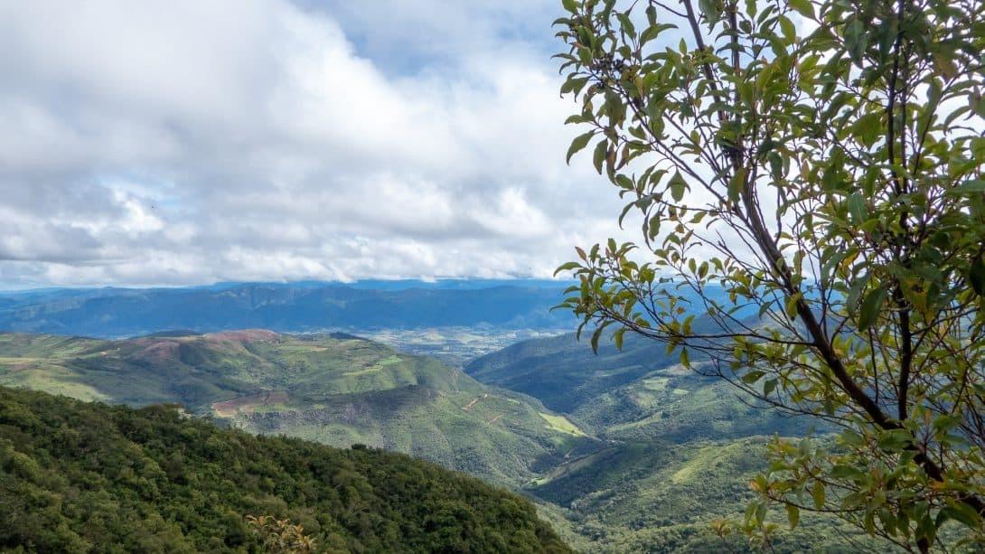 Valley views in Samaipata