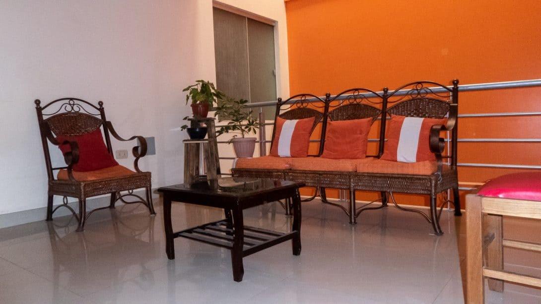 Communal area at 360 Grados Hostel