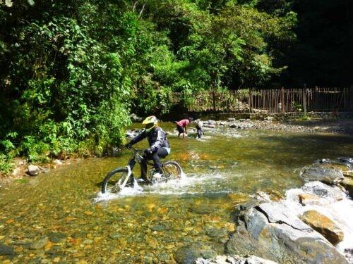 Death Road Cycling Tour - Flood