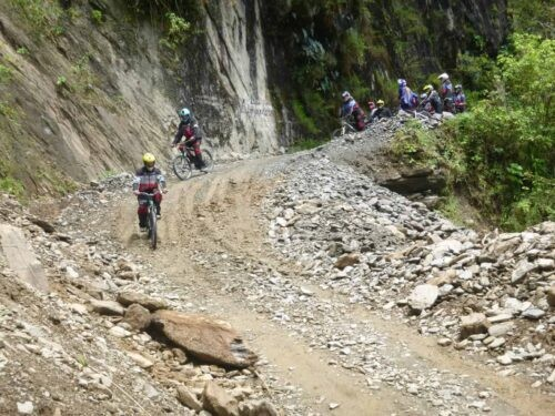 Death Road Cycling Tour - Downhill