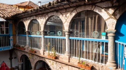 Cusco Culinary Cooking Class, Colonial Building