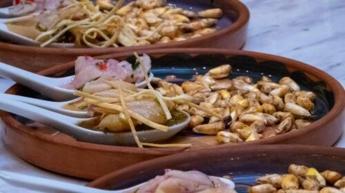 A Bowl of Delicious Food Made on a Cooking Class in Cusco, Peru