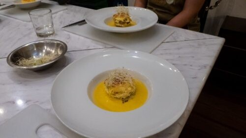 A Soufflé Made on a Cooking Course with Cusco Culinary