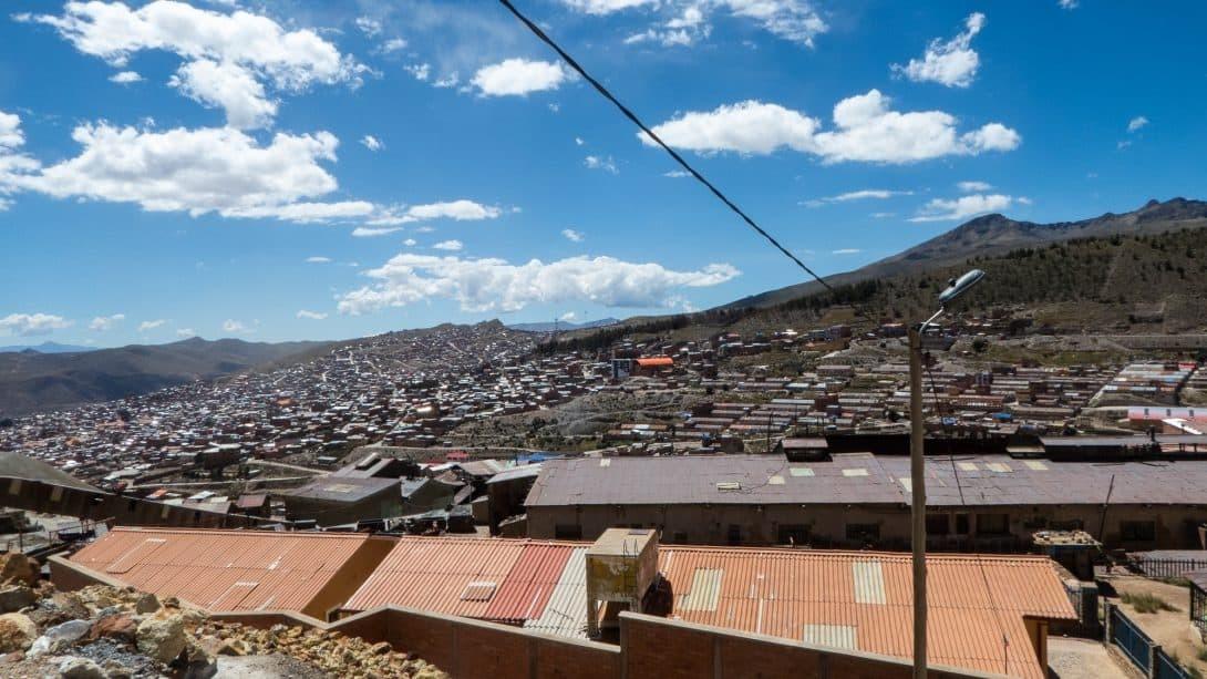 The city of Potosi