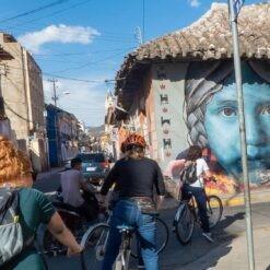 Street Art Tour By Bicycle | 2 hours | COCHABAMBA, BOLIVIA
