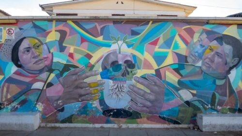Street Art Tour By Bicycle - Mural