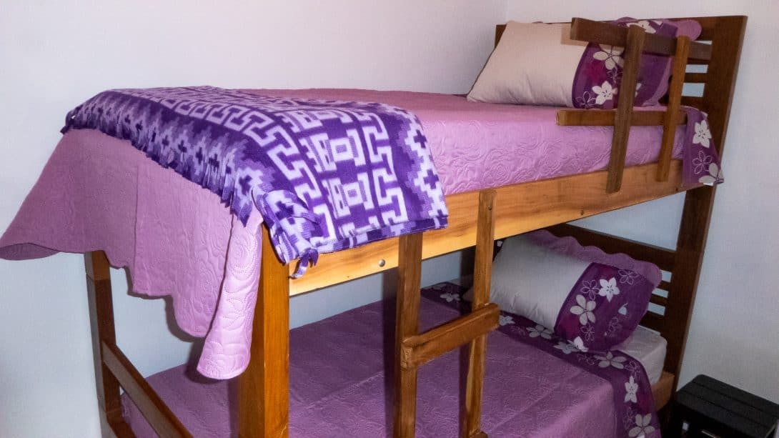 Bunk beds at Casa Lynda
