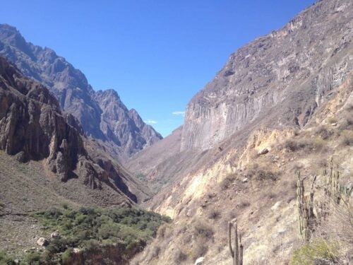 Colca Canyon scenery