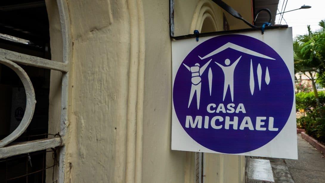 Casa Michael sign