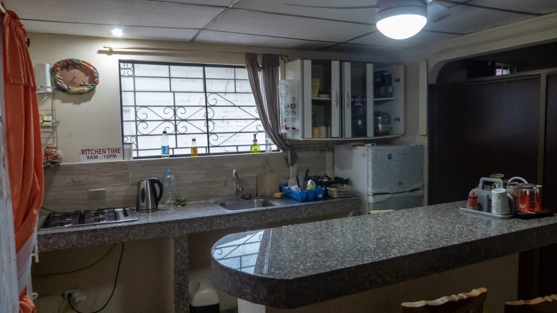 Casa Michael communal kitchen