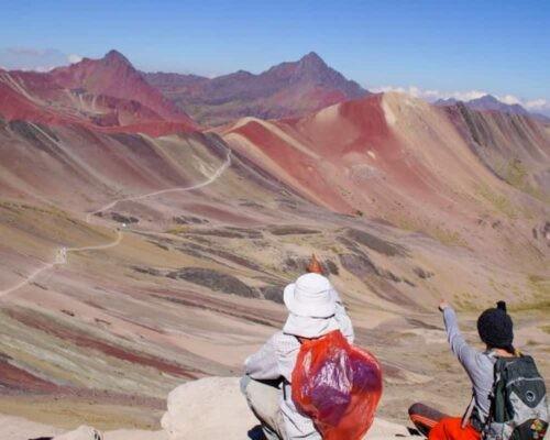 Rainbow Mountain trail
