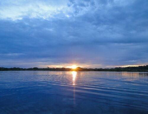 Sunset in Cuyabeno