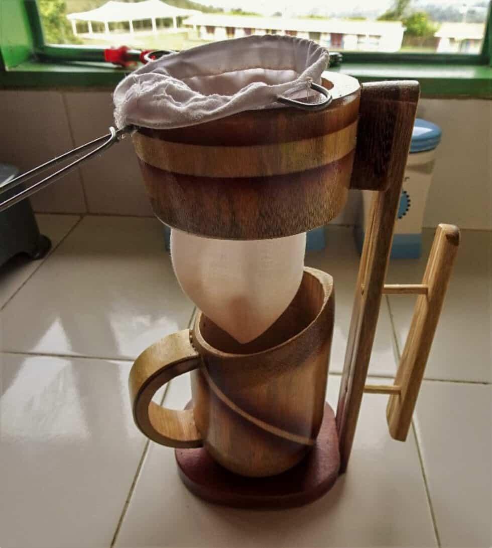 A Colombian coffee sock!