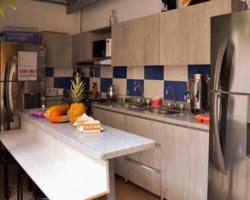 Kitchen at Blink Spanish Immersion School