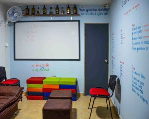 Communal area at Blink