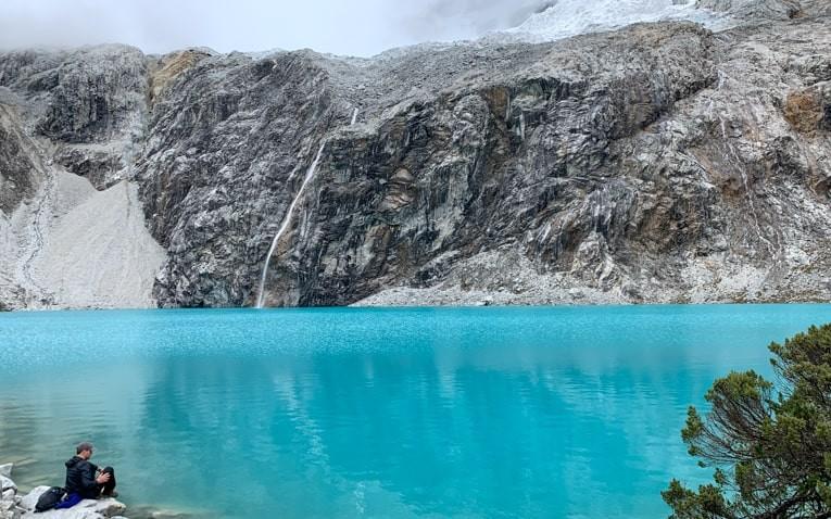 Pure waters of Laguna 69