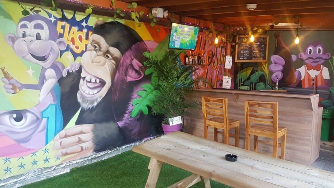Purple Monkey Graffiti