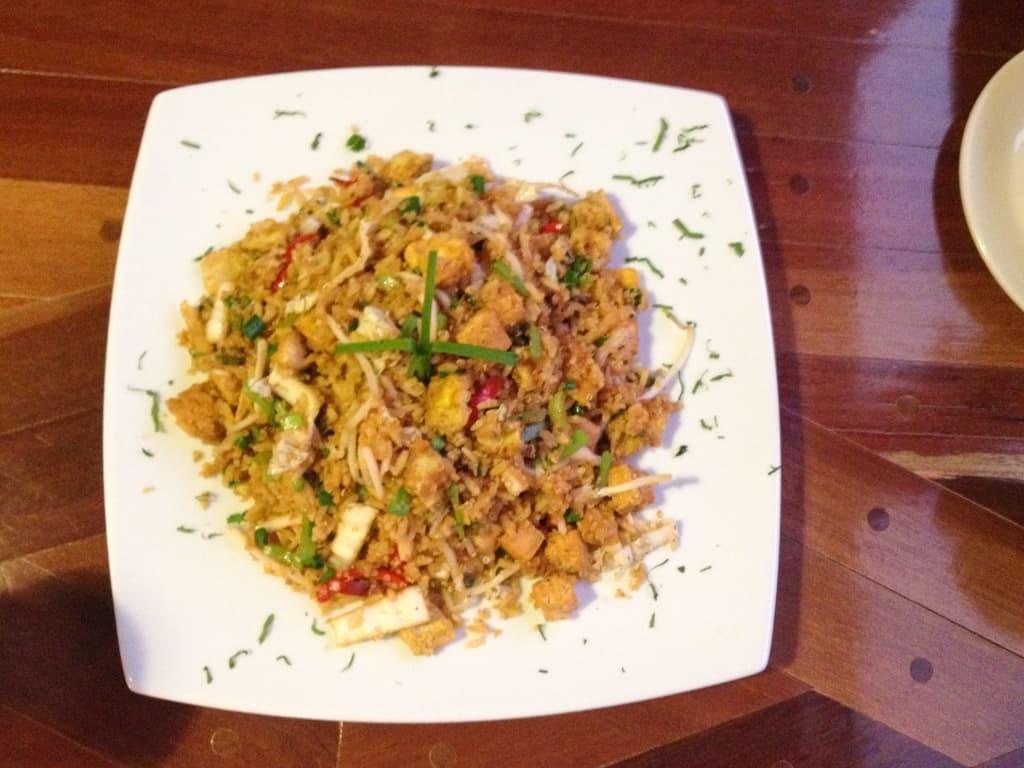 Chinese Peru fried rice