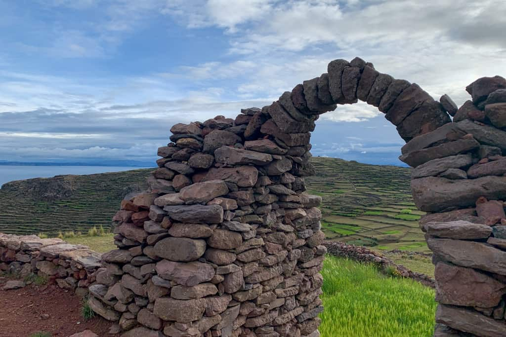 Archway on Taquile Island