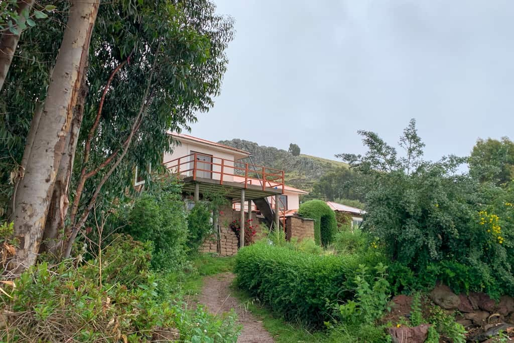 Homestay on Amantaní Island.