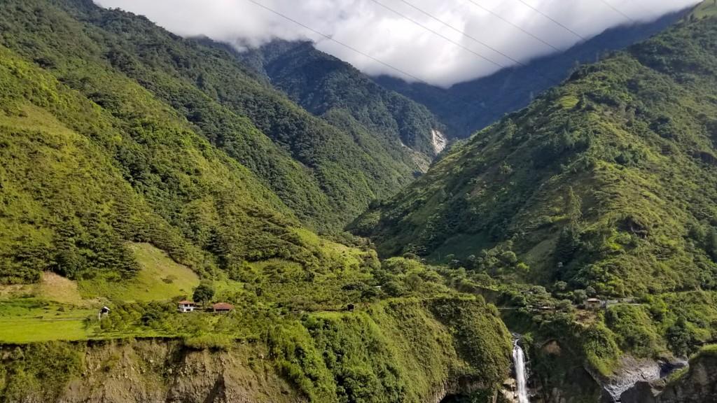 Biking the Unforgettable Ruta de las Cascadas in Baños, Ecuador