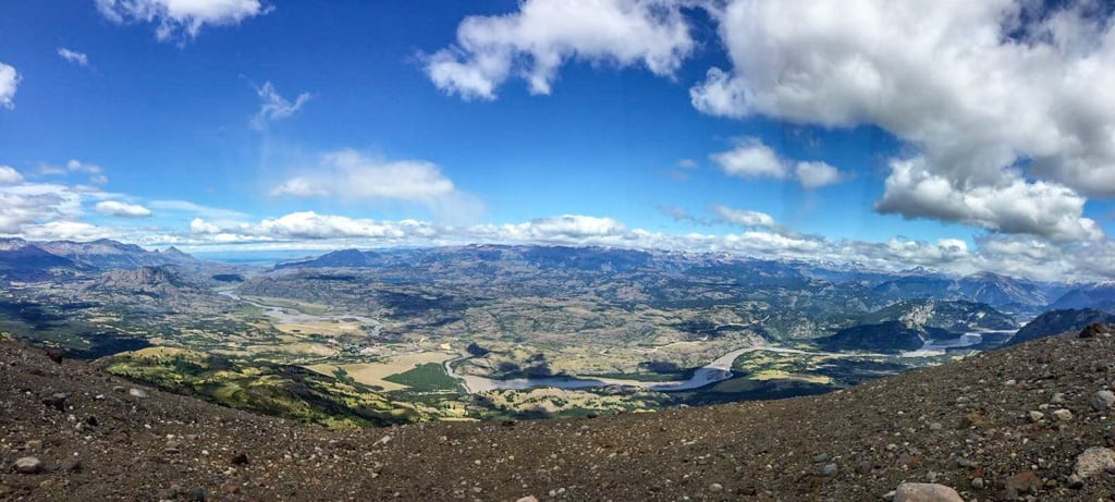 Beautiful views at Cerro Castillo