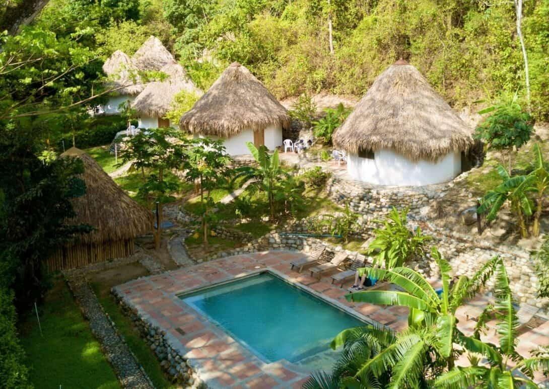 Finca Carpe Diem Ecolodge, Minca, Colombia.