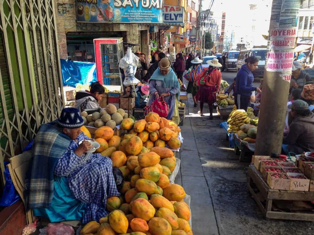 Market La Paz