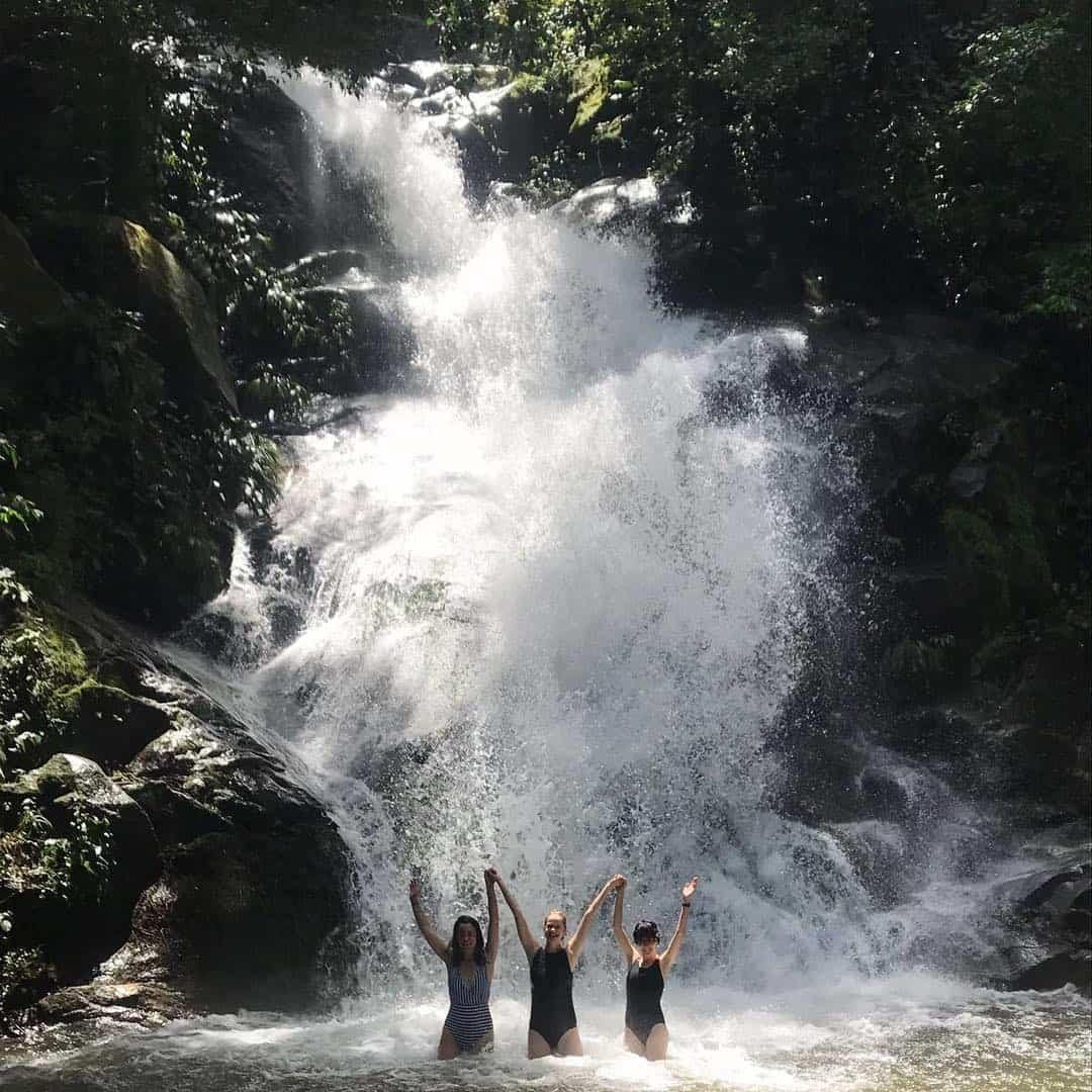 Waterfall at Paso del Mango Minca Colombia