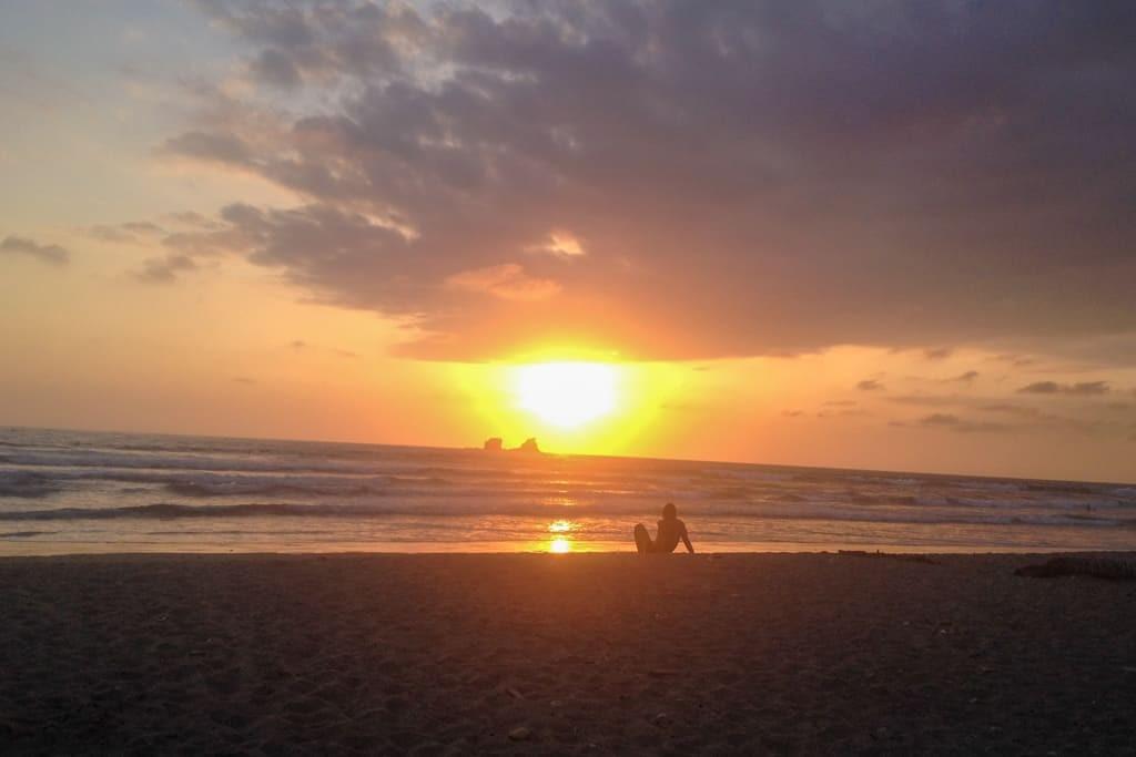Ayampe Beach, Ecuador